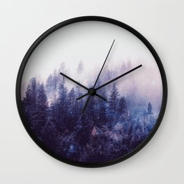 Misty Space Wall Clock