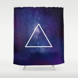Space Geometry 1 Shower Curtain