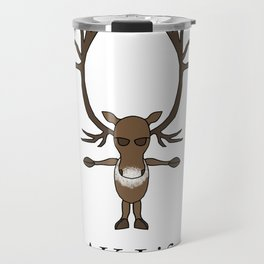 AK Life Caribou Travel Mug
