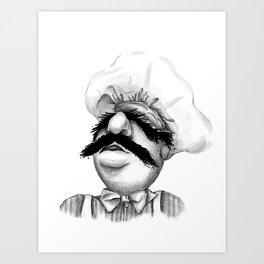 "The Cries of ""Bork Bork Bork"" Art Print"