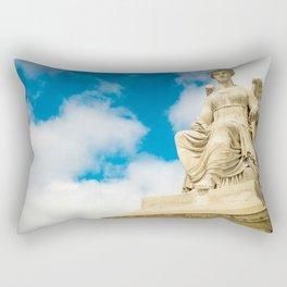 Sitting Angel Rectangular Pillow