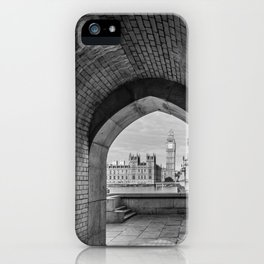 Big ben and bridge iPhone Case