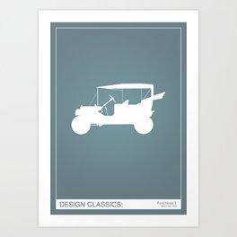 Design Classics - Model-T Art Print