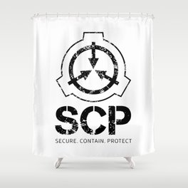 SCP Secure Shower Curtain