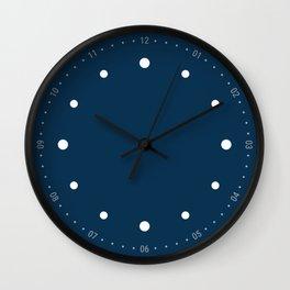 Preciso - Blue Wall Clock