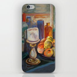 Candles And Fruit iPhone Skin