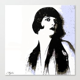 LOUISE BROOKS:  MY LOVE IS ALL I HAVE TO GIVE Canvas Print