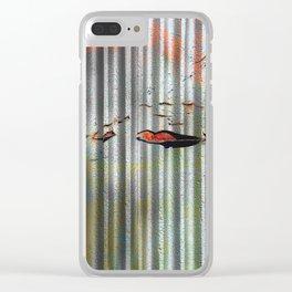 Hidden Rot Clear iPhone Case