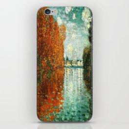 Monet : Autumn Effect at Argenteuil iPhone Skin