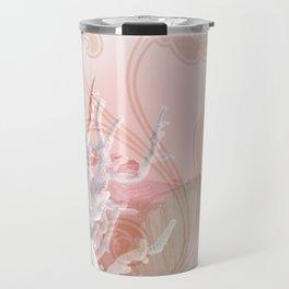 SEASHELL DREAMS | pink Travel Mug
