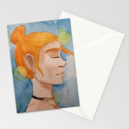 Profile with Light Stationery Cards