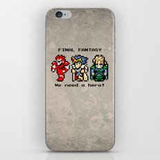 We Need A Hero iPhone & iPod Skin
