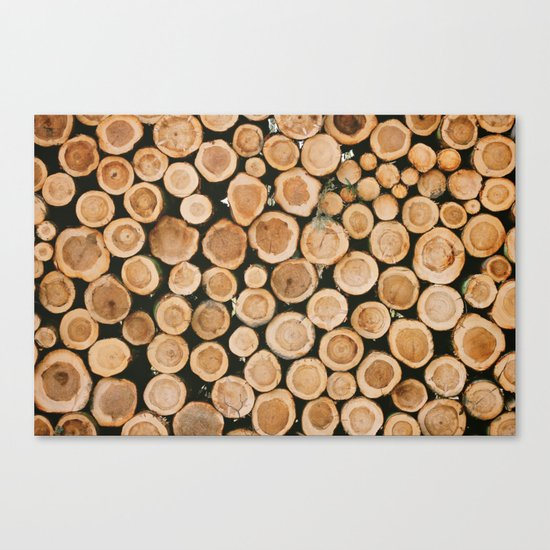 the forest for the trees Canvas Print