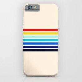Classic 70s Style Retro Stripes - Inera iPhone Case