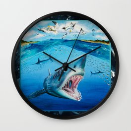 The Mako Run Wall Clock