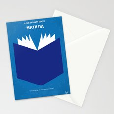 No291 My Matilda minimal movie poster Stationery Cards