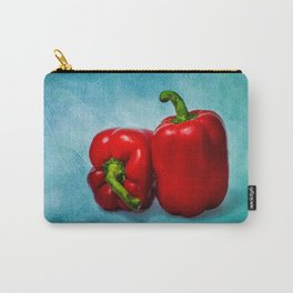 Red Bell Peppers Carry-All Pouch