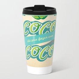 Tudo que é de coco... Metal Travel Mug