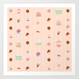 Sweet treats Art Print