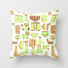 Dirty Laundry Throw Pillow