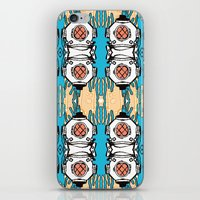 scuba iPhone & iPod Skins featuring Scuba Squad by Marc Douglas Weiss