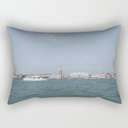 Venice in Soft Tones // Travel and Lifestyle Collection Rectangular Pillow