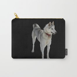 Quincy Sled Dog (black) Carry-All Pouch
