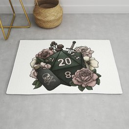 Rogue Class D20 - Tabletop Gaming Dice Rug
