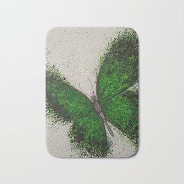 Emerald Butterfly Bath Mat
