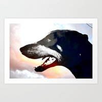 caleb troy Art Prints featuring Troy by Jake Stanton