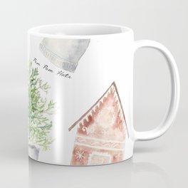 Winter Favorites in Watercolor Coffee Mug