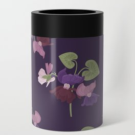 Forest Viola Can Cooler