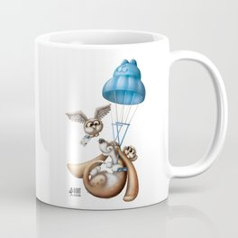 Flying basset Coffee Mug