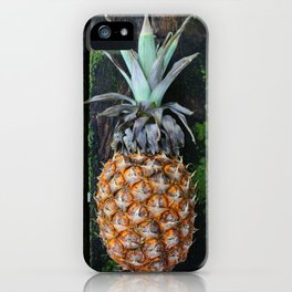 Weathered Pineapple iPhone Case