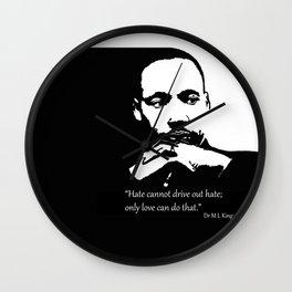 Dr King Jr Wall Clock
