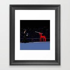 Chiron Centaur Framed Art Print