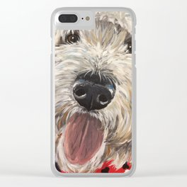Labradoodle Art Clear iPhone Case