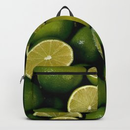 Limet Lemon Fruits Backpack