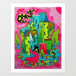 Cities of the Future Art Print