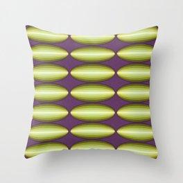 Dirigible Cucumber Throw Pillow