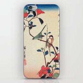 Camellia Branch iPhone Skin