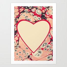 Valentine's Day, Alla hjärtans dag <3 Art Print