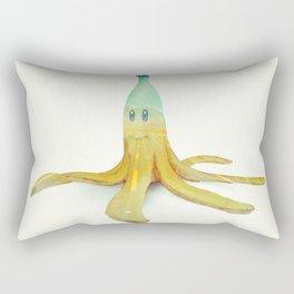 Banana Peel - Kart Art Rectangular Pillow