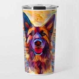 German Shepherd 8 Travel Mug