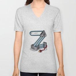 MACHINE LETTERS - Z Unisex V-Neck
