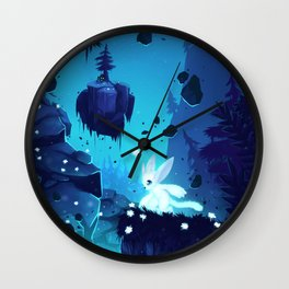Ori - Lost without Light Wall Clock