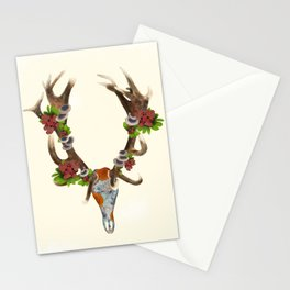 The Red Stag Stationery Cards