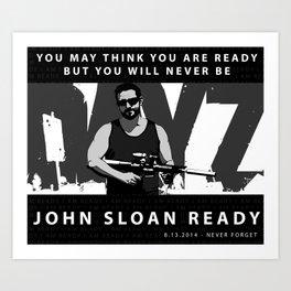 John Sloan Ready Art Print