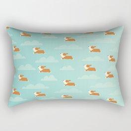 Angel Corgi Rectangular Pillow