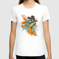 magical girl T-shirts featuring Magical Girl Gladiolus by Anna Landin